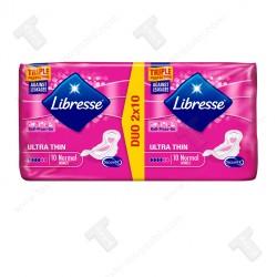 Libresse дамски превръзки дуо 20броя ultra thin normal