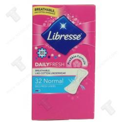 Libresse дамски превръзки ежедневни 32 броя daily fresh
