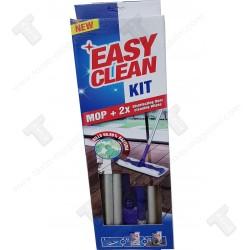 Easy clean kit mop+2 пакета мокри кърпи за почистване, 99% дезинфекция