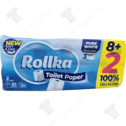 Rollka тоалетна хартия 10 ролки х 70гр