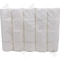 Rollka тоалетна хартия 40 ролки х 70гр без аромат, чисто бяла