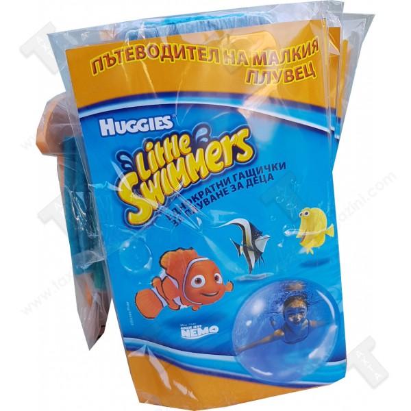 Huggies little  Swimmers еднократни гащички за плуване за деца размер М от 11-15кг 10броя + метър подарък