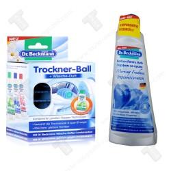 Промо пакет Dr. Beckmann Trockner Ball топка за сушилня+Парфюм 250мл