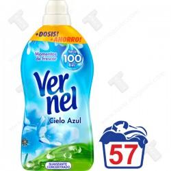 Vernel омекотител 1.311л за 57 пранета -Cielo Azul