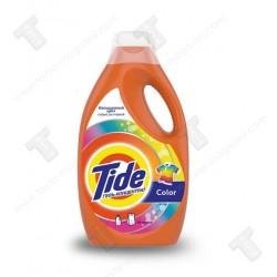 Tide течен перилен препарат 2.21л за 34 пранета - цветно пране