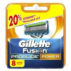 Gillette Fusion ProGlide power Резервни ножчета, 8 бр.
