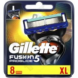 Gillette Fusion ProGlide Manual Резервни ножчета, 8 бр.