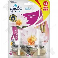Glade електрически ароматизатор пълнител 2х20мл -Relaxing zen