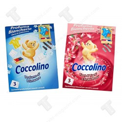 Промо пакет Coccolino ароматизатор за дрехи и гардероб 2х3бр сашета