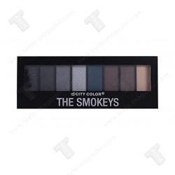 City Color Палитра сенки за очи Smokeys