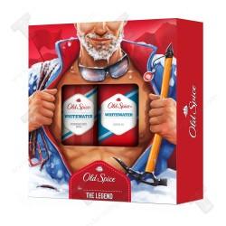 Old Spice подаръчен за мъже, дезодорант 150мл+душ гел 250мл whitewater
