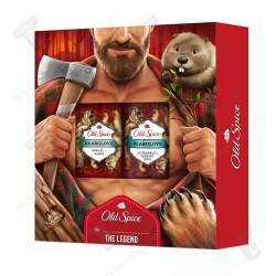 Old spice подаръчен комплект за мъже, дезодорант 150мл, душ гел 250мл, bearglove