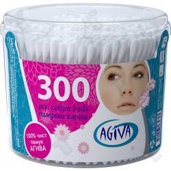 Клечки за почистване на уши Agiva 300 броя