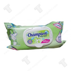 Champion baby wipes 120бр бебешки мокри кърпи