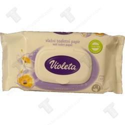 Виолета мокра тоалетна хартия 60бр