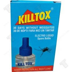 KILLTOX теченост против комари за машинка 30мл