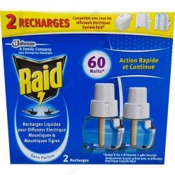 Raid електрически двоен пълнител - за мухи и комари