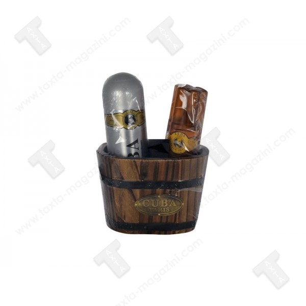 Cuba подаръчен комплект за мъже, афтършейв100мл, дезодорант 200мл