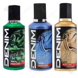 Denim промо пакет парфюми  3бр х 100мл - Original, Wild, Gold