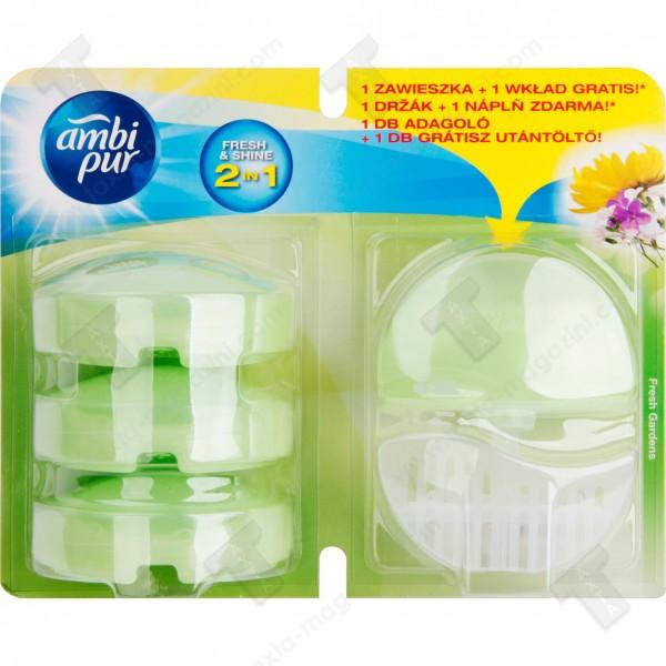 Ambi pur ароматизатор кошница за тоалетна чиния +3 пълнитела - фреш гарден