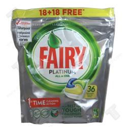 Fairy Platinum All in One таблетки за съдомиялна машина 36 броя